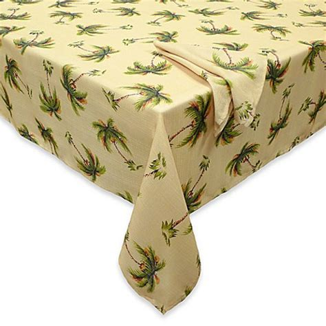 Palm Beach Tablecloth and Napkins   Bed Bath & Beyond