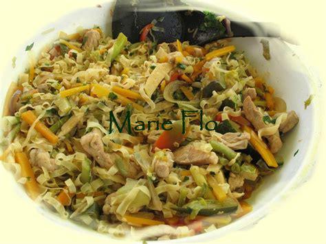 cuisine chinoise au wok sauté de porc aux légumes à la chinoise ma nature 2