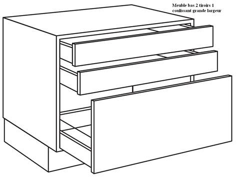 meuble cuisine tiroir best meuble cuisine tiroir coulissant with meuble cuisine
