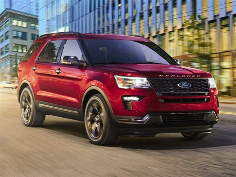 2018 Ford Explorer Deals, Prices, Incentives & Leases