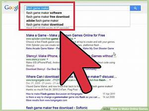 How To Make Online Games  With Pictures