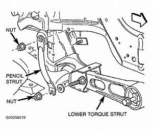 2005 Chrysler Pt Cruiser Serpentine Belt Routing And