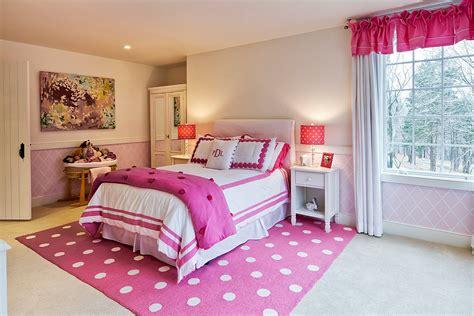 modern pink girls bedroom theydesignnet
