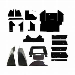John Deere New Complete Black Cab Foam Kit Headliner 4030 4230 4430 4630 Late