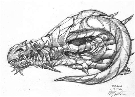 drawn devil dragon pencil   color drawn devil dragon