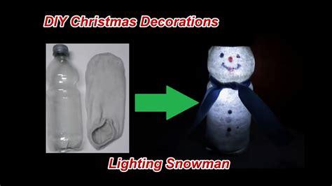 lighting christmas snowman   socks