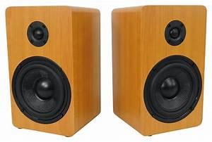 Rockville Blutube Tube Amplifier 5 25 U0026quot  Wood Bookshelf