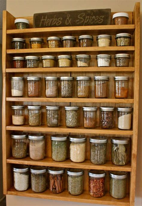 Herbs And Spices Rack by Best 25 Spice Racks Ideas On Kitchen Spice