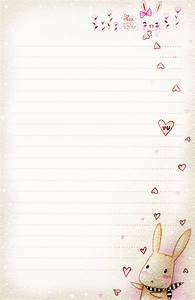 bunny love letter paper by tho be on deviantart With love letter paper