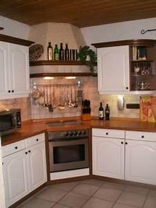 Küche Eiche Weiß : k che aus eiche rustikal wird wei wenn man ein haus hat rustic kitchen kitchen und home ~ Orissabook.com Haus und Dekorationen