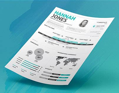 Resume Infographic Creator by The Resume Creator On Behance