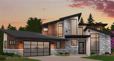 modern house plans contemporary style home blueprints