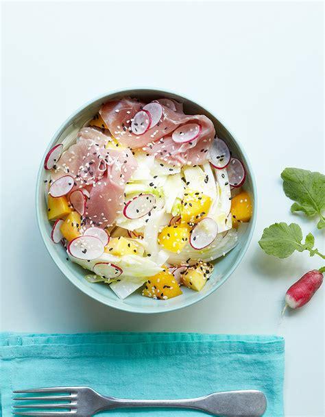cuisine du fenouil salade fenouil pêche jambon cru pour 4 personnes