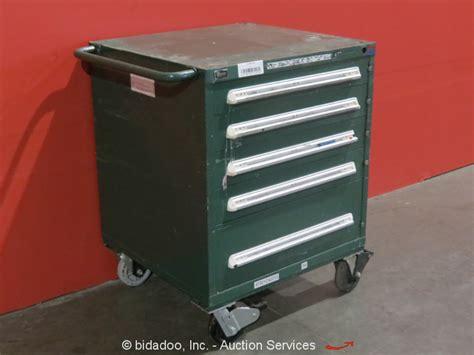 Stanley Vidmar Cabinet Locks by Stanley Vidmar 5 Drawer Portable Tool Cabinet Shop