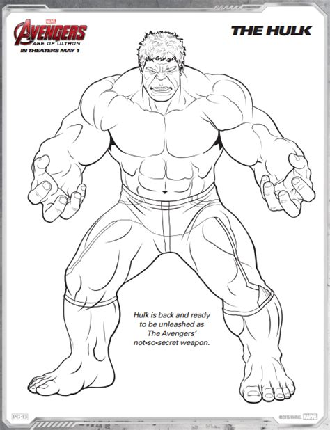 avengers age of ultron free printable coloring pages a