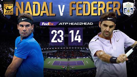 Roger Federer VS Rafael Nadal   Head 2 Head   ATP World Tour   Tennis