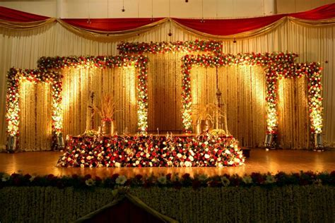 hindu wedding weddings wedding stage decorations