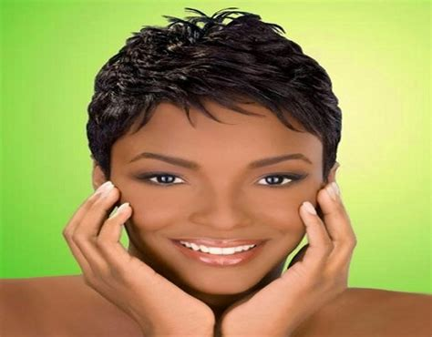 Short African American Hairstyles In Modish On June