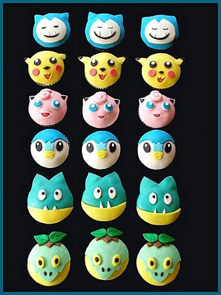 pokemon mmf decorated cupcakes craftybaking