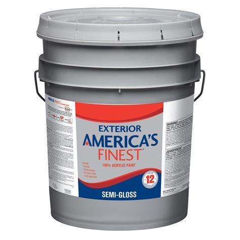glidden premium 5 gal flat exterior paint gl6111 05