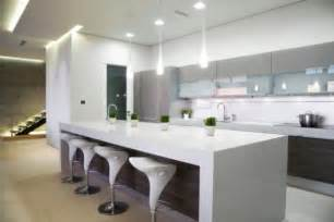 kitchen island white 15 contemporary kitchen designs that will rock your cooking