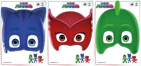 pj masks template looking for pj masks activities print out these owlette gekko and catboy masks free