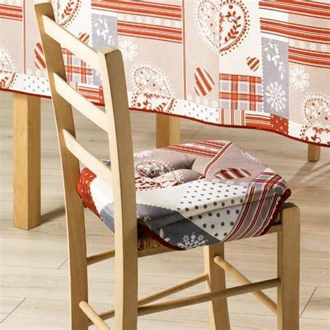 faire des galettes de chaises galette de chaise assise de chaise 35x35 cm doux cur