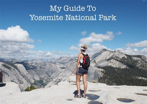 Guide Yosemite National Park Cotton Tales