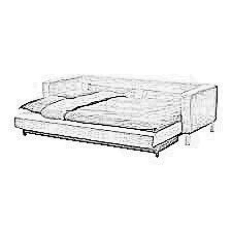 Karlstad 3 Seater Sofa Bed Cover by Cover For Karlstad Three Seater Bed Sofa