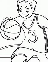 Coloring Sports Pages Playing Printable Popular sketch template