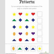 Pattern Practice!  Worksheet Educationcom