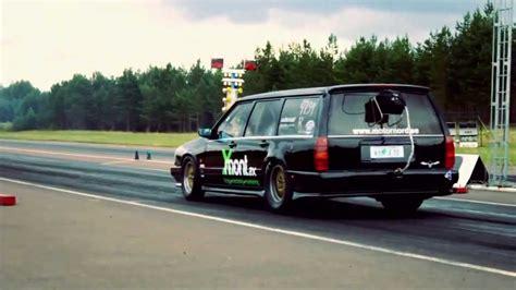hp drag volvo station wagon youtube