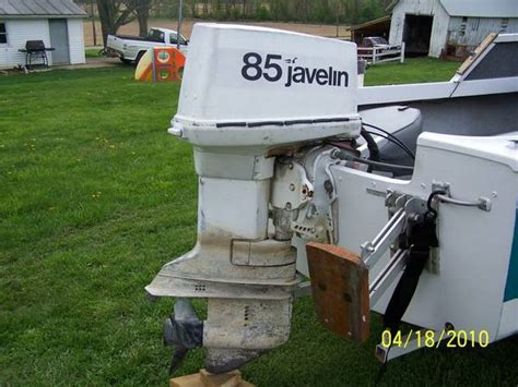 Evinrude 85 Hp Outboard Boat Motor by Johnson Javelin Outboard For Sale