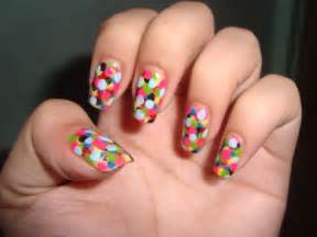 Quick nail design ideas : Easy colorful nail art ideas