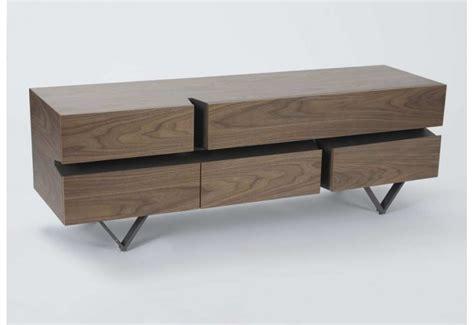 meuble tv moderne canyon metal  bois amadeus