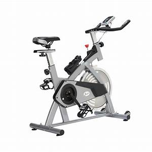 Soozier Pro Upright Indoor Cardio Bike With Lcd Monitor