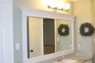 framed bathroom mirror ideas of great ideas september 2011