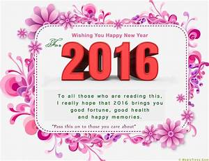 Happy New Year Wishes Messages 2016 Pictures, Photos, and ...