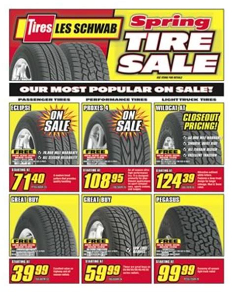 Tire Sale At Les Schwab | 2017, 2018, 2019 Ford Price ...