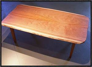 hand crafted live edge cherry coffee table by rockledge With live edge cherry coffee table