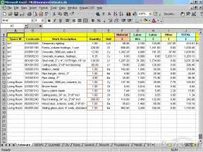 Estimate Moving Expenses by Expense Estimate Template