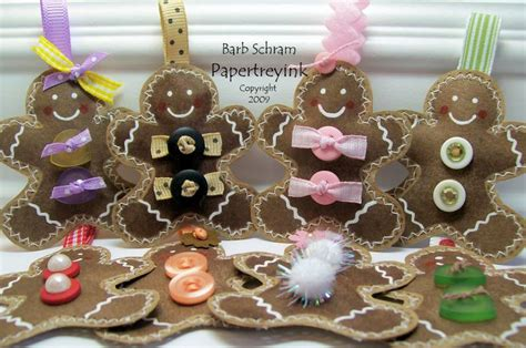 brown paper bag ornaments by stfilled dreams at
