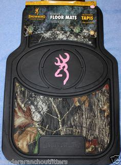 Browning Floor Mats Pink by 1000 Images About Camo Truck Car On
