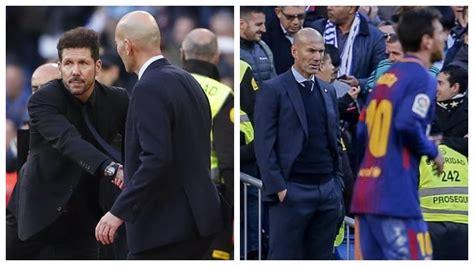 Real Madrid - La Liga: Zidane: The coach who halted Messi ...