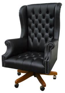 chaise de bureau chesterfield fauteuils chesterfield de bureau