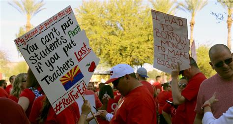 Teachers To Vote On Strike, Unhappy With Pay Raise Offer  Arizona Capitol Times