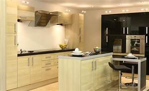 Designs modern kitchen design with wooden furniture and