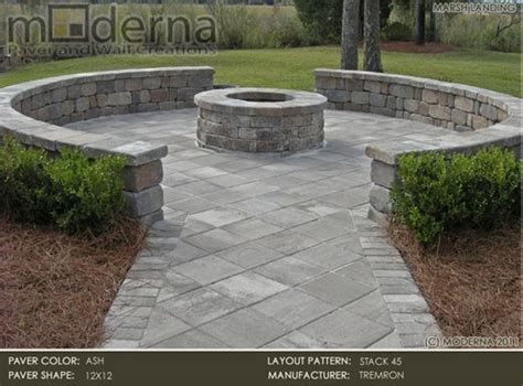 wide border with large paver home outdoors pinterest