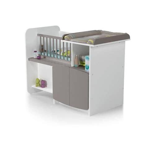 chambre bébé lit évolutif at4 lit bébé combiné evolutif 1 2 3 blanc taupe blanc