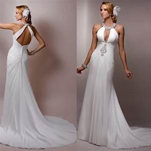 turmec halter neck backless wedding dress bridal bliss With halter neck wedding dress